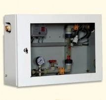 Механический расходомер с электрическим клапаном